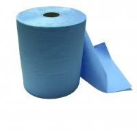 Putzpapierrolle blau 36cm breit 3-lagig