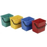 Kunststoffeimer 6 ltr. grün