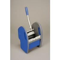 Kunststoffpresse blau